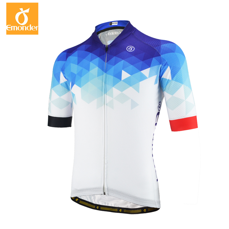 Emonder Cycling Jersey 2018 Pro Team Men Summer MTB Road Bike Jersey  Breathable Cozy Bicycle DH Jersey Cycling Clothing 3 Colors 3143eadd5