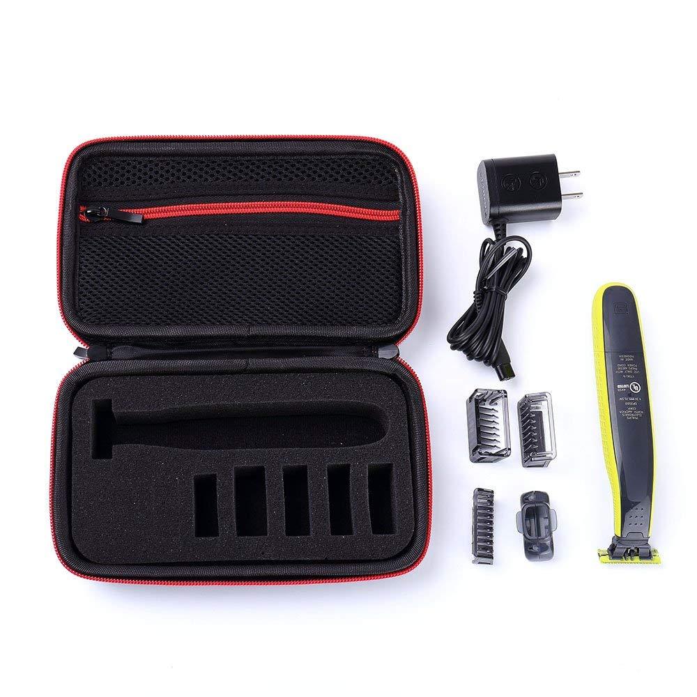 Schutzhülle Box Tragbare Fall Abdeckung Mäppchen EVA Reisetasche für Philips OneBlade Trimmer Rasierer & und Zubehör Lagerung Pac