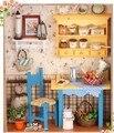 """Очень Красивые Ручной Кукольные Домики """"Бабушкины кухня"""" Собрать кукольный домик деревянная кукла дома DIY do it yourself"""