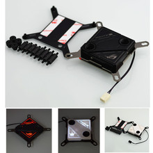 CPU water cooling block 60X60mm micro channel design for I NTEL 115X.