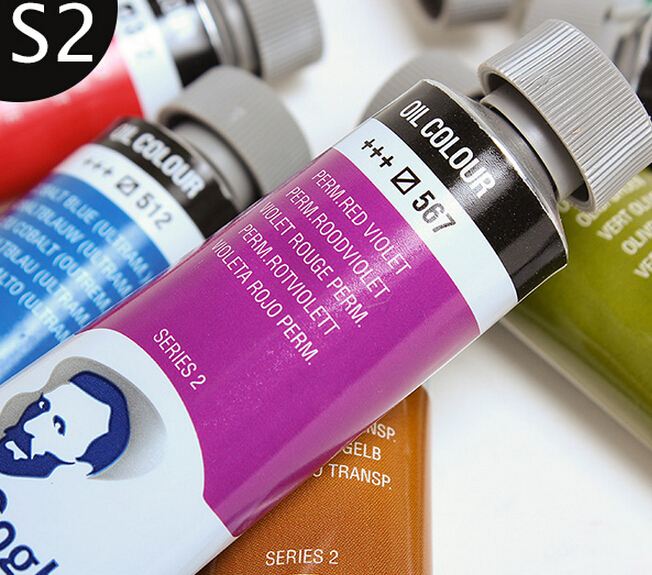 Hotsale Royal Van Gogh 40ml Series2 Oil Paints Plus Oil Pigment Van Gogh Aluminum Tube Professional For Master