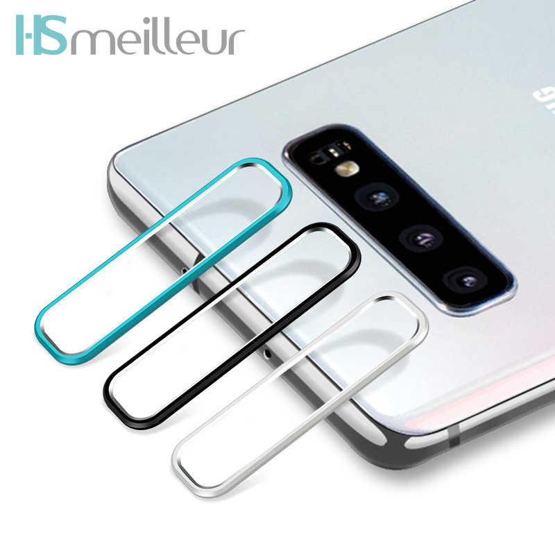 Hsmeilleur Rear Camera Metal Lens Protector Ring For Samsung S10 Plus S10plus Back Camera Protetor Guard Cover Case Accessories