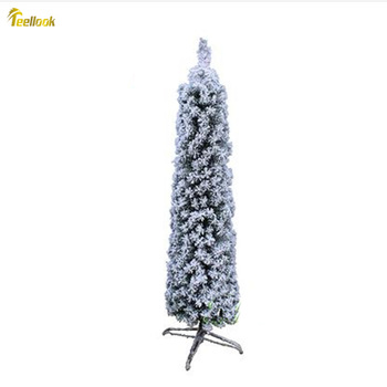 Teellook 0.9m-2.1m encrypted imitation zonal flocking Christmas tree snow tree Christmas hotel home decoration supplies