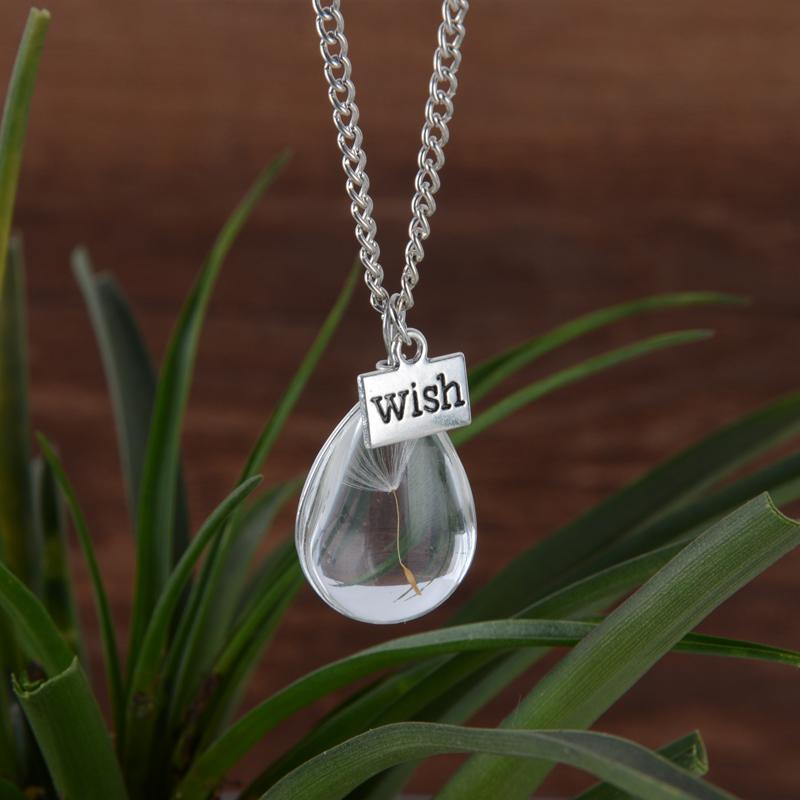 Drop Wish Vial Necklaces