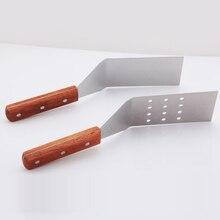 Инструмент для барбекю Обжарка лопатой шпатель барбекю инструменты для приготовления инструменты стейк плоская лопатка инструмент для жарки