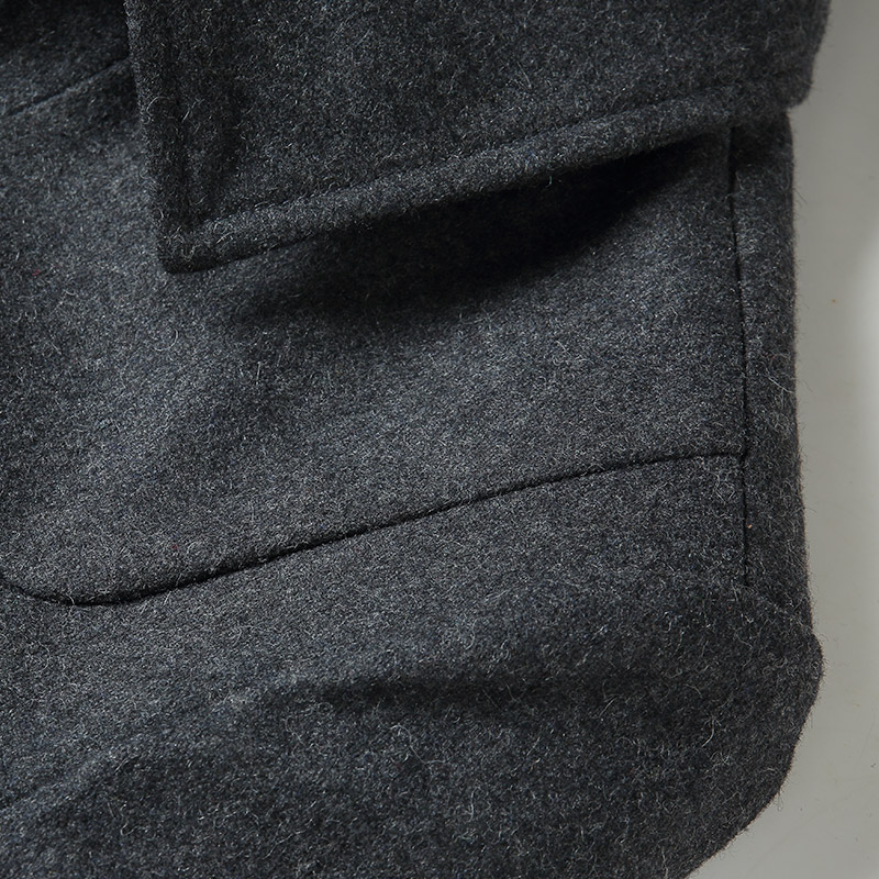 TAPOO Mens Winter Casual Wool Jacket