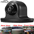 170 Degrees Wide View Angle HD CCD Mini Waterproof Universal Rear Front Side Car Parking Backup Reverse Rear View Camera