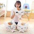 1 pc 40 cm Natsume Yuujinchou Nyanko Sensei Cat Plush Anime Boneca de Pelúcia Mão Mais Quente Almofada Travesseiro Boneca de Brinquedo de Pelúcia Presente de natal