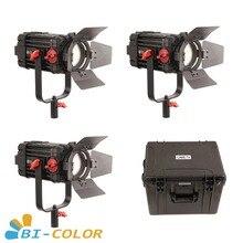 3 шт. CAME-TV Boltzen 100 Вт Fresnel Фокусируемый светодиодный двухцветный комплект