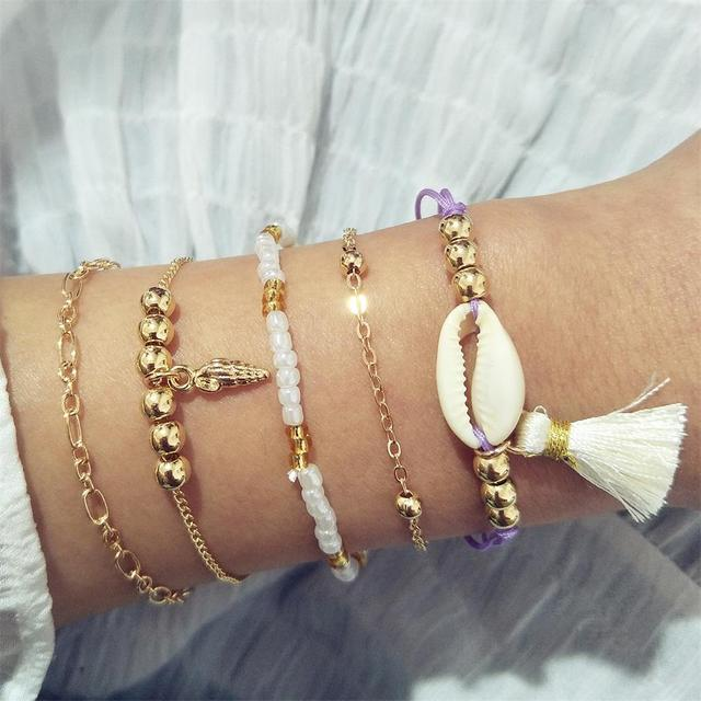 Bracelet Bohemian Shell...