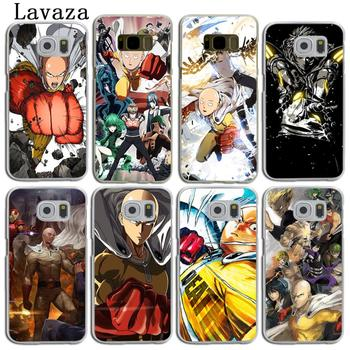 Lavaza One Punch Man Hard Skin Phone Shell Case for Samsung Galaxy S9 S8 Plus S3 S4 S5 S6 S7 Edge Back Cover