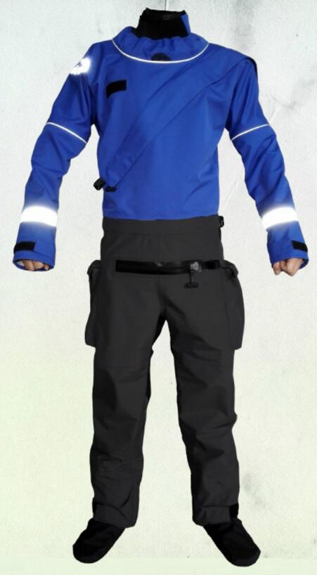 2016 front zipper full dry suit latex neck and wrist gasket relief zipper kayak whitewater rafting