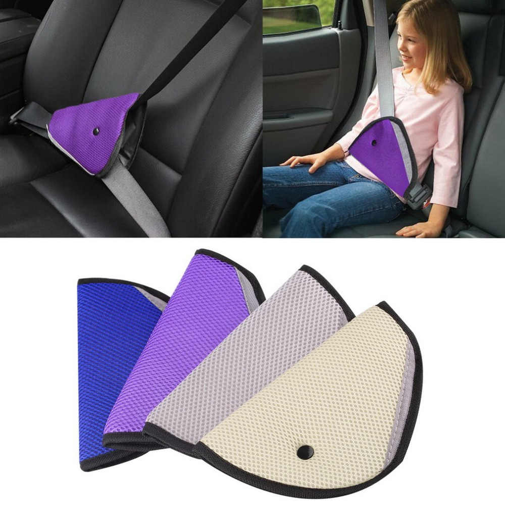 Car Vehicle Child Parts Protecting Adjuster Toddlers Safety Cover Strap Adjuster Pad Harness Seat Belts Clip for Kids Baby#