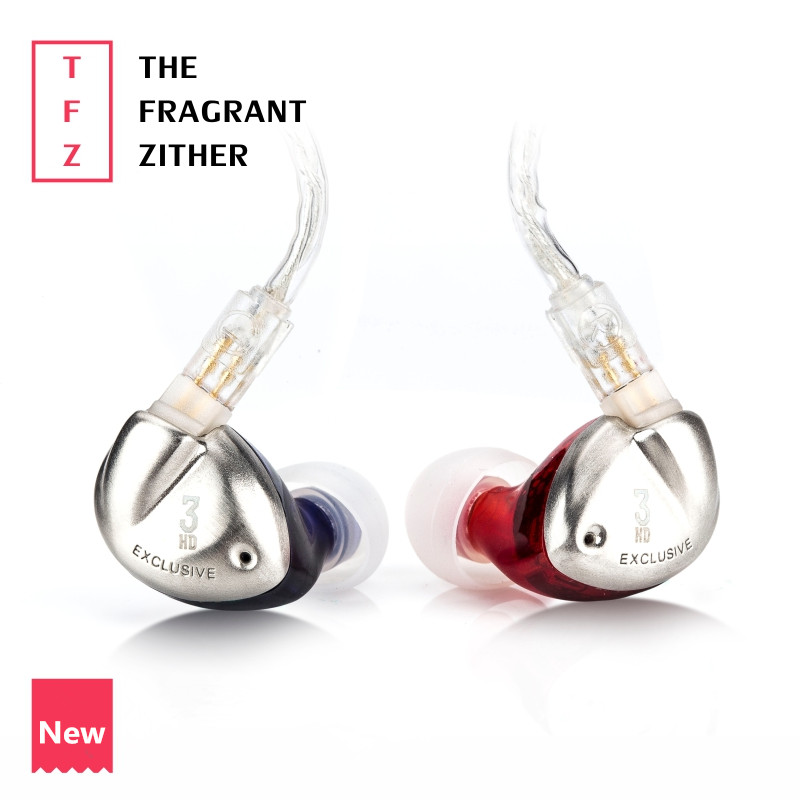 Здесь продается  TFZ EXCLUSIVE 3 In Ear Earphone The Fragrant Zither Monitor HiFi Headset Customized 9mm Dynamic DJ Earphones  Бытовая электроника
