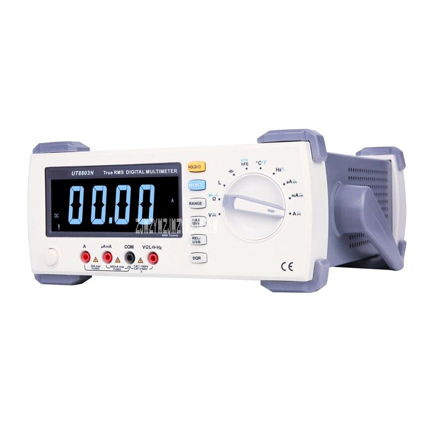 UT171B multimètre numérique paillasse multimètre professionnel True-rms testeur de capacité de résistance à l'inductance AC/DC 100-240 V