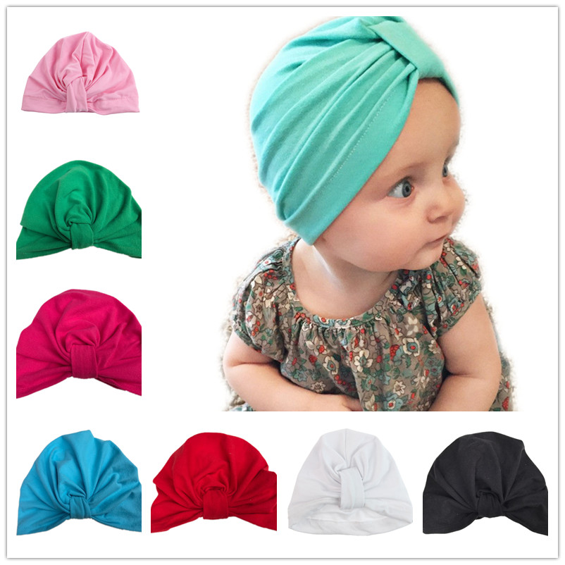 Bnaturalwell Baby Turban Hat with bow Toddler Hat Pink Newborn Beanie stylish Topknot beanie Photo Props Baby shower gift H033D newborn baby photography props infant knit crochet costume peacock photo prop costume headband hat clothes set baby shower gift