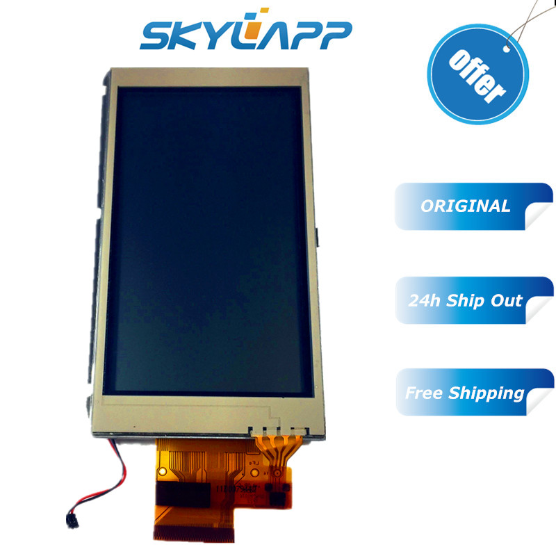 "Temperate Original 4"" Inch Complete Lcd Screen For Garmin Montana 600 600t Handheld Gps Lcd Display Touch Screen Digitizer Lq040t7ub01"
