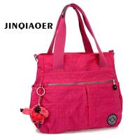 Women Shoulder Big Bags Waterproof Nylon Lady Sling Female Messenger Bag Crossbody Bags For Women Handbag