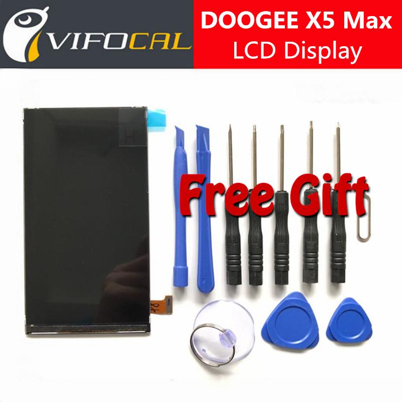 Prix pour Doogee x5 max lcd affichage écran + torx outils 100% d'origine de réparation de l'assemblée de remplacement pour doogee x5 max pro mobile téléphone