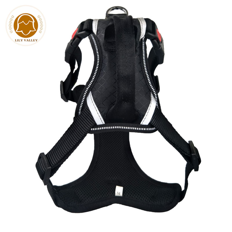 Dog Harness Reflective Vests chest For dog collars and harnesses Pet Collar Adjustable Products