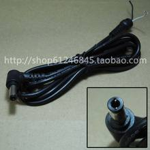 For ASUS For Toshiba For Lenovo 5.5 * 2.5 Notebook DC power plug line small round mouth with a magnetic loop elbow line