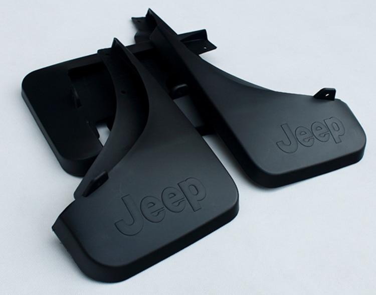 цена на 1SET 4PCS Car Mudguard Accessories Mud Flaps Splash Guards Cover Fender For Jeep Grand Cherokee 2005 2006 2007 2008 Mudguards