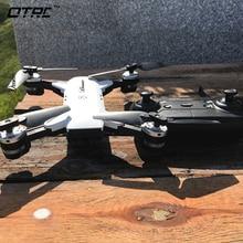 цена на RC Foldable Selfie RC Drone With FPV Wifi Camera Altitude Hold Mini Quadcopter mini rc drones 2mp OTRC H19 quadcopter