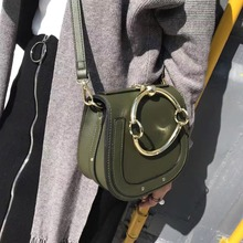 High quality female bag Fashion design rims handbags PU leather women messenger bag clutch zipper bag