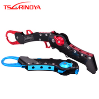 TSURINOYA 28.5cm Aluminum Fish Controller Carbon Fiber Handle Max Load 50kg Fish Grip Lip Grabber Alicate De Pesca Fishing Tools