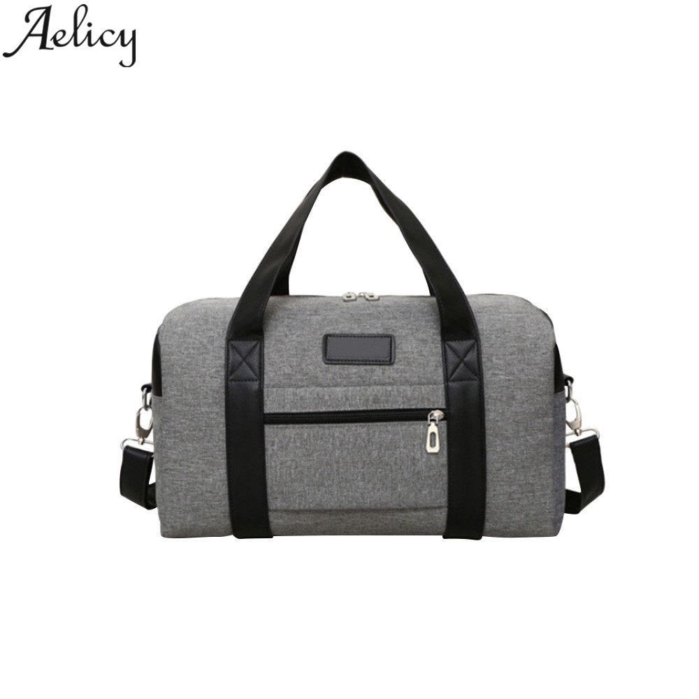 Aelicy New Men Travel Bags Large Capacity Women Luggage Trav
