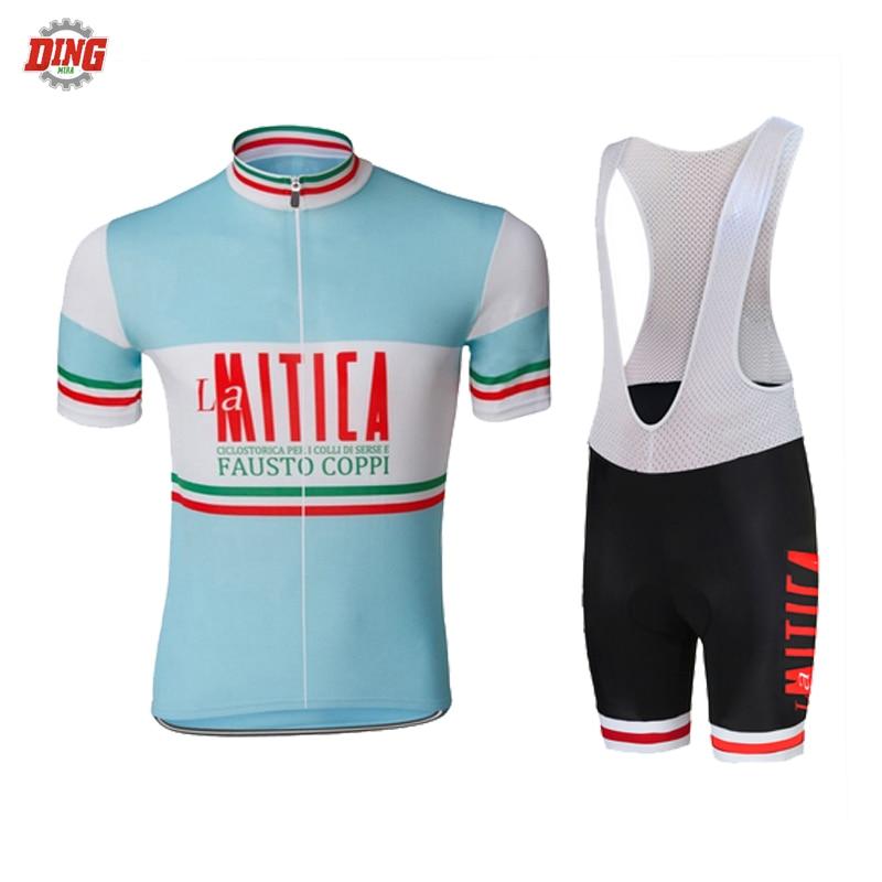 NEW cycling jersey set blue men short sleeve black bib shorts Gel Pad pro bike team wear jersey set clothing MTB road sports смартфон highscreen fest xl pro blue