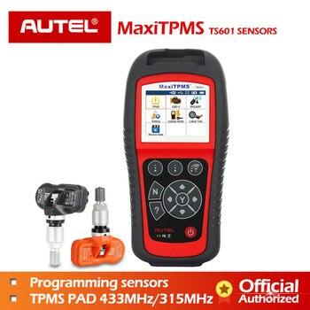 AUTEL TS601 TPMS Diagnostic Tool Activate MX sensors 433 MHz 315 MHz ECU  Reprogram OBD OBD2 Scanner