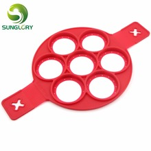 New Perfect Pancakes Silicone Flippin Fantastic Non-stick Pancake Maker Egg Ring Flip Breakfast Omelets Kitchen Cooking Tools