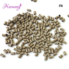 copper Micro tubes/Rings/links/beads 4.0*3.6*6.0mm