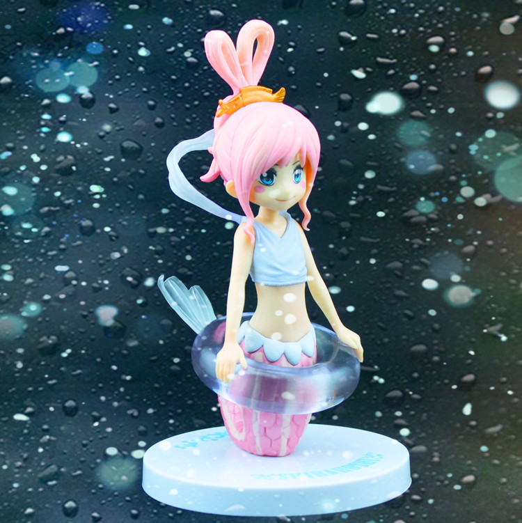 Hot 16cm Shirahoshi Mermaid Princess One Piece Anime Collectible Action Figures PVC Collection toys Anime Fans christmas gift starz anime one piece figure mermaid princess shirahoshi pvc sexy action figure the grandline lady special model collection toys
