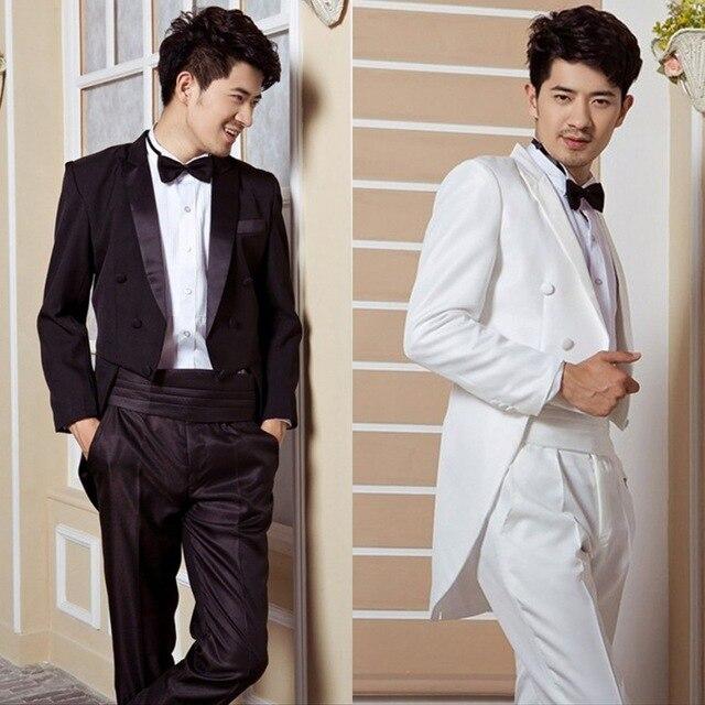 Dinner will be black and white tuxedo wedding groom tuxedo Men ...