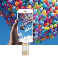 For iPhone 6 6s Plus 5 5S ipad Pen drive HD memory stick Dual purpose mobile OTG Micro USB Flash Drive 16G 32G Accessory Bundles