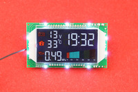 The Temperature Display Module Temperature Module Automobile Thermometer With Voltage Watch Strap Time Pressure Size Display