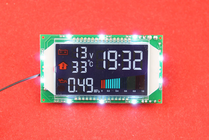 The temperature display module temperature module automobile thermometer with voltage watch strap time pressure size display dual temperature display module temperature module automobile thermometer with voltage watchband time diy module