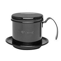 커피 드립 필터 컵 스테인레스 스틸 커피 드립 포트 휴대용 재사용 가능한 종이없는 사무실 홈 야외 사용을위한 부어