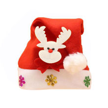 Hot Kids Adult LED Christmas Hat Santa Claus Reindeer Snowman Xmas Gifts Cap bonnet de noel adulte santa claus hat