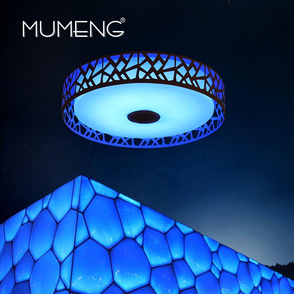mumeng vodila stropna svetilka zatemnjena spalnica svetilka 36W - Notranja razsvetljava