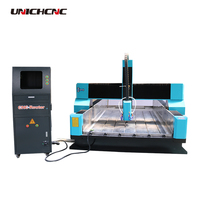 1300*2500mm water cooling stone hand cnc router machine for marble carving