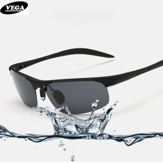 VEGA Aluminum Magnesium Polarized Sport Sunglasses For Police Biker Driver Cool Tactical Shooting Glasses For Men Women  8177