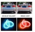 Homeyard 180cm 315 LED Dynamic Streamer Tailgate LED Strip Light Bar Turn Signal Function for Ford Pickup GMC Dodge Truck