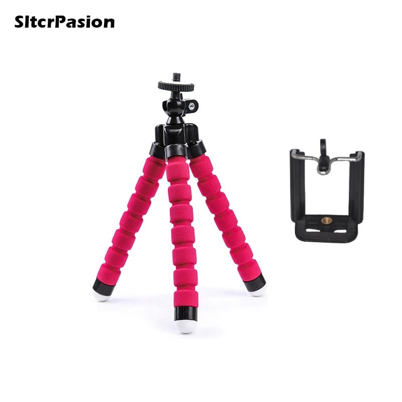 SltcrPasion Tripod Selfie Mini Tripod for Phone Tripe Celular Statief Flexible Tripod for Camera Xiaomi Yi Tripodes Para Camaras