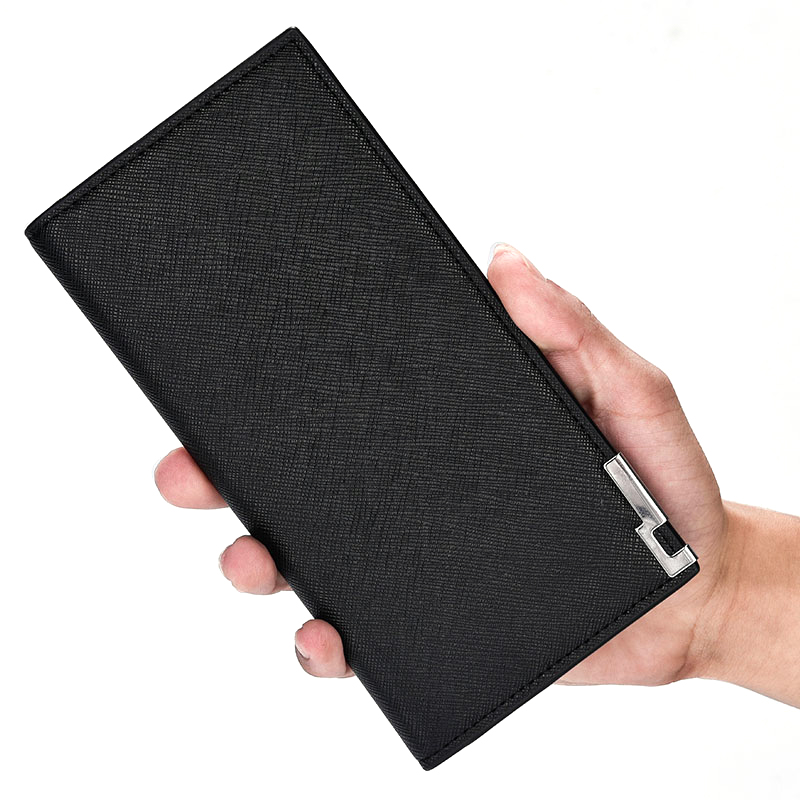2020 Luxury Brand Men Wallets Long Men Purse Wallet Male Clutch PU Leather Wallet Men Business Male Thin Coin Purse Card Holder