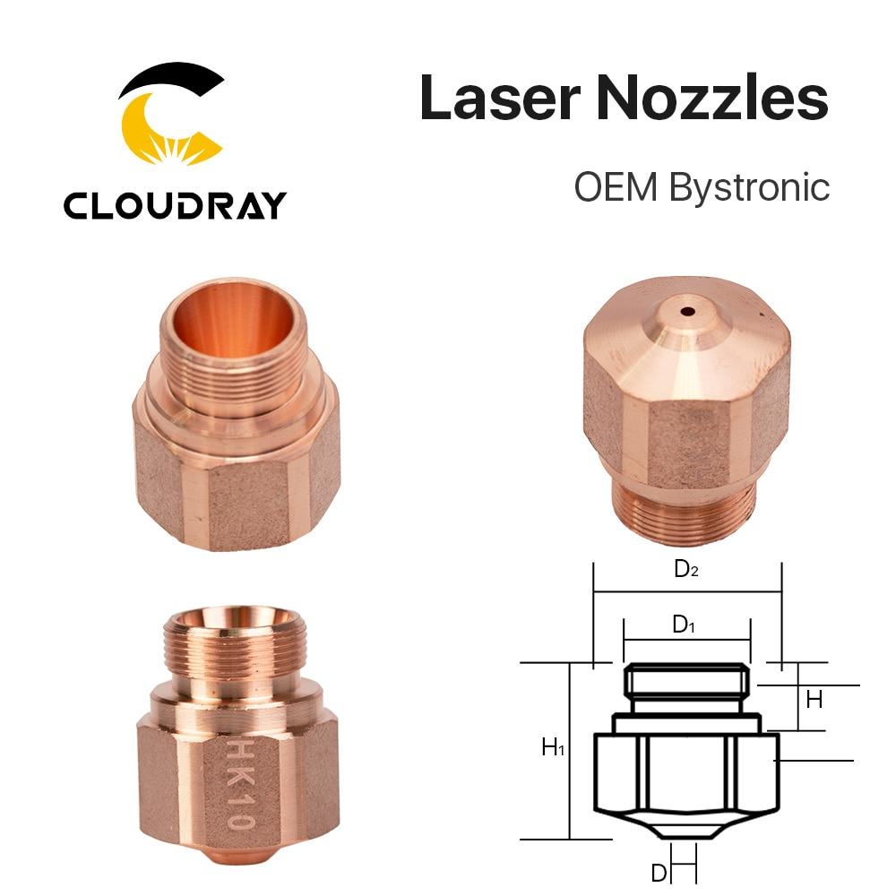 Cloudray HK08 HK10 HK12 HK15 HK17 HK20 HK25 HK30 Laser Nozzles For OEM Bystronic Fiber Laser Cutting Machine