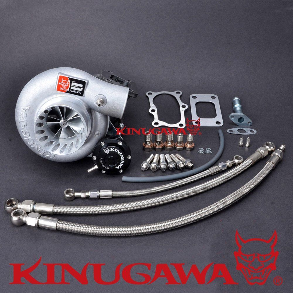 Kinugawa GTX Billet Turbocharger 3 Anti Surge TD06SL2 18G 8cm for NISSAN RB20DET RB25DET Bolt On
