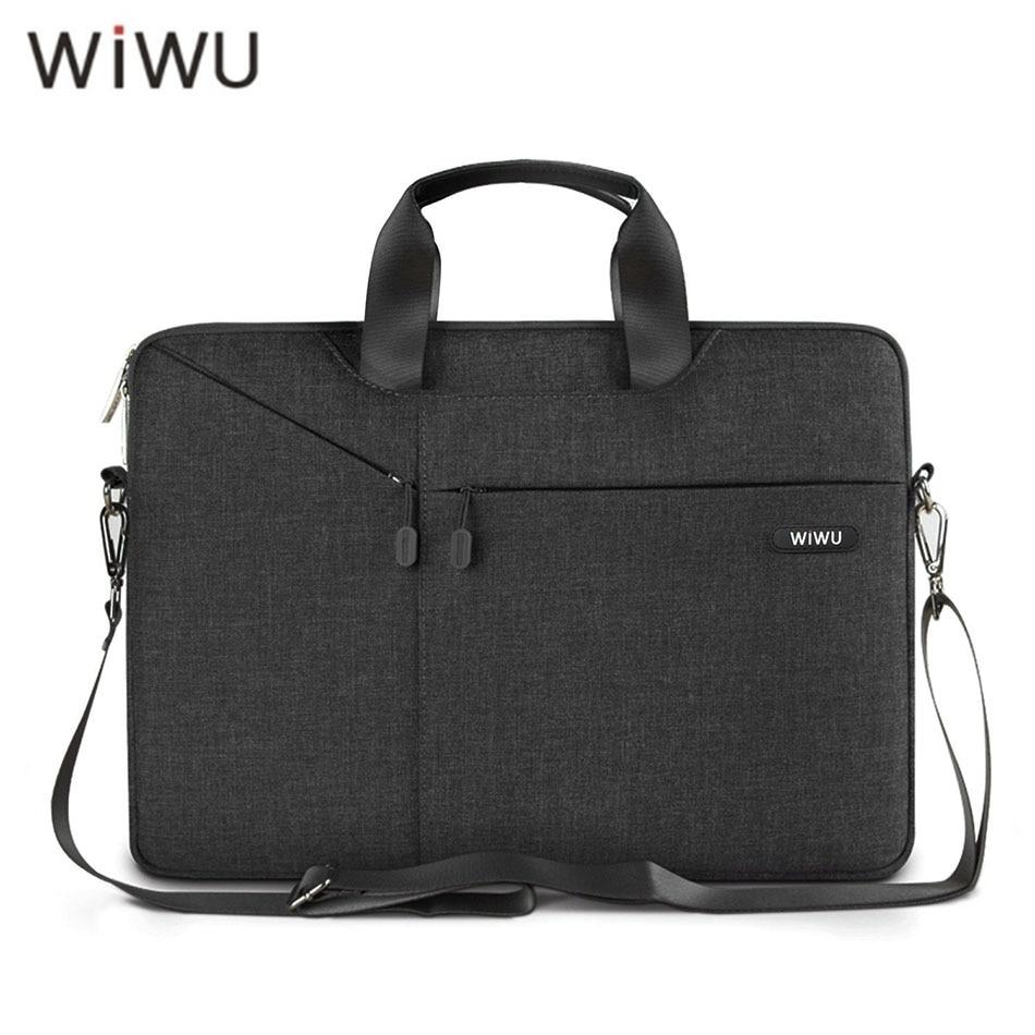Gearmax/WIWU Newest Laptop Shoulder Bag 11 12 13.3 14 15.4 15.6 Waterproof Shockproof Nylon Notebook Bag for Laptop for Macbook(China)